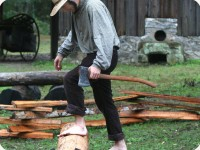 shaping logs 4